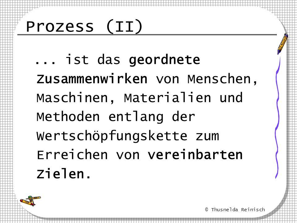 Prozess (II)