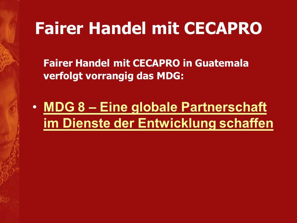 Fairer Handel mit CECAPRO