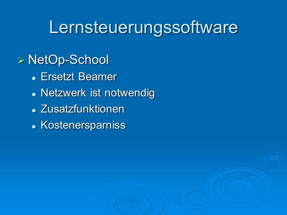 Lernsteuerungssoftware