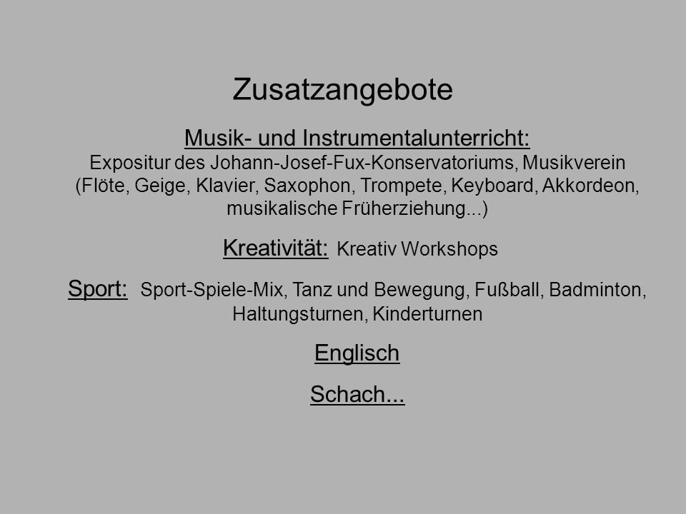 Kreativität: Kreativ Workshops