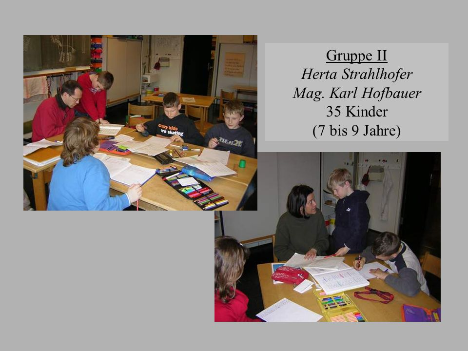 Gruppe II Herta Strahlhofer Mag