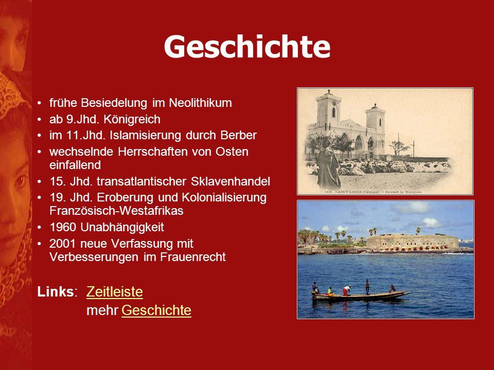 Geschichte Links: Zeitleiste mehr Geschichte