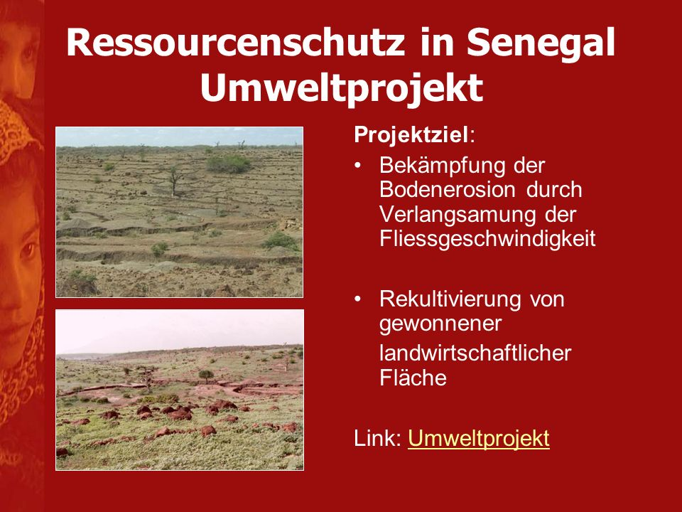 Ressourcenschutz in Senegal Umweltprojekt