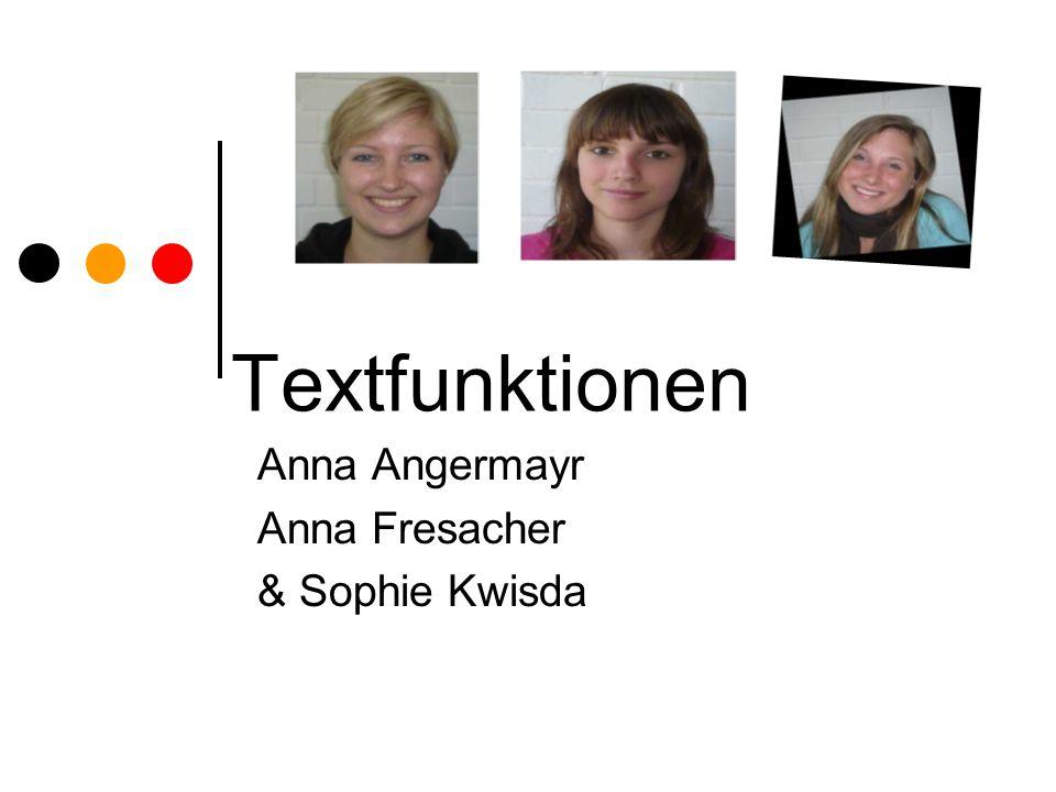 Anna Angermayr Anna Fresacher & Sophie Kwisda