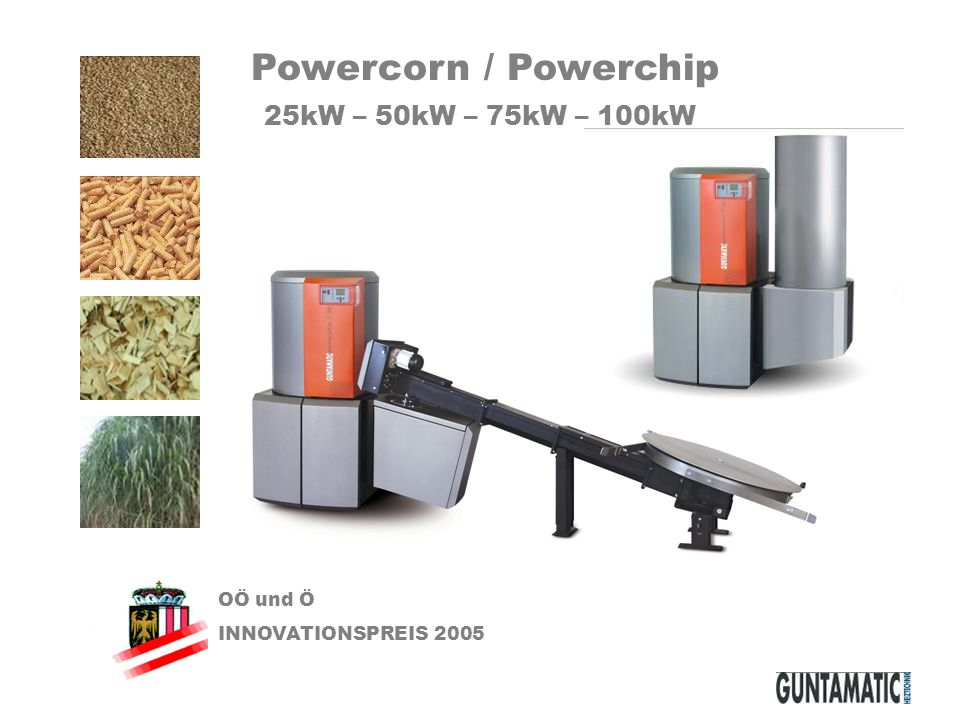 Powercorn / Powerchip 25kW – 50kW – 75kW – 100kW