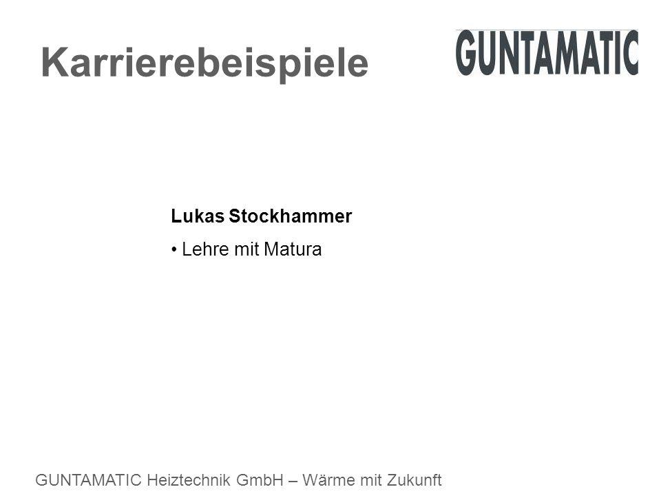 Karrierebeispiele Lukas Stockhammer Lehre mit Matura