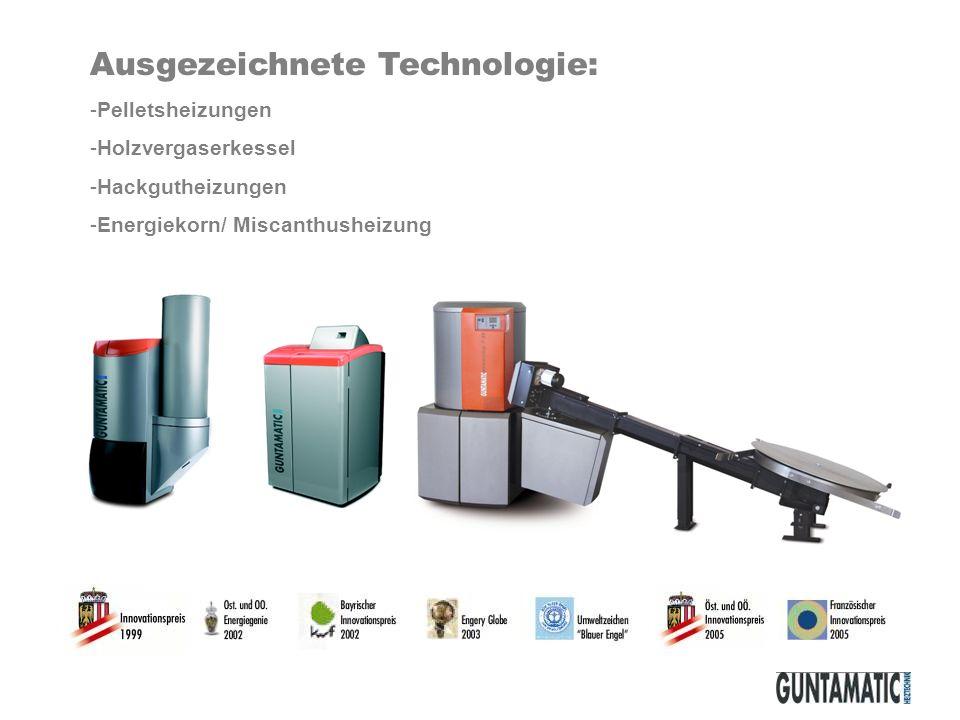 Ausgezeichnete Technologie: