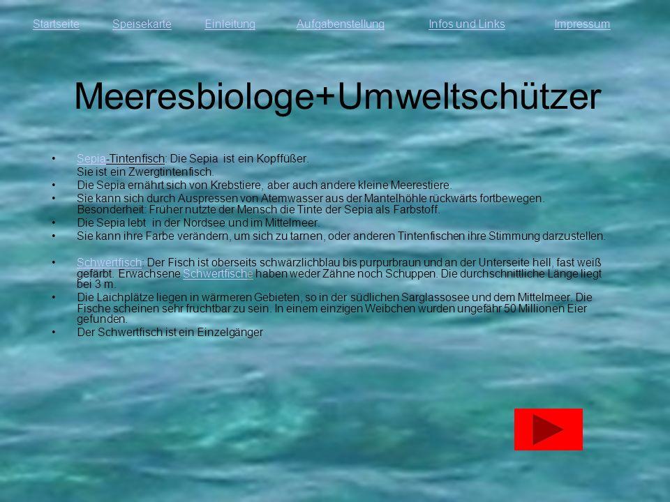 Meeresbiologe+Umweltschützer