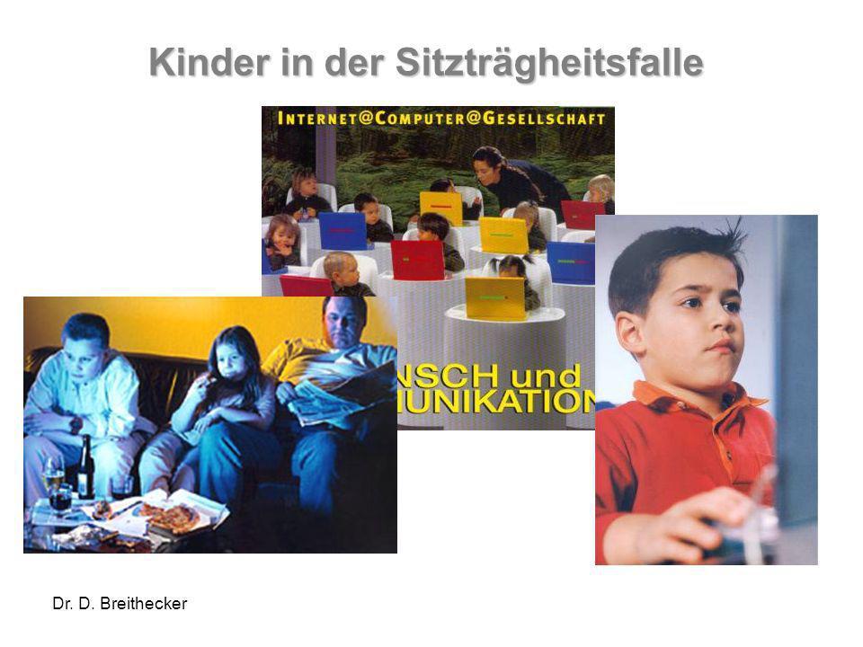 Kinder in der Sitzträgheitsfalle