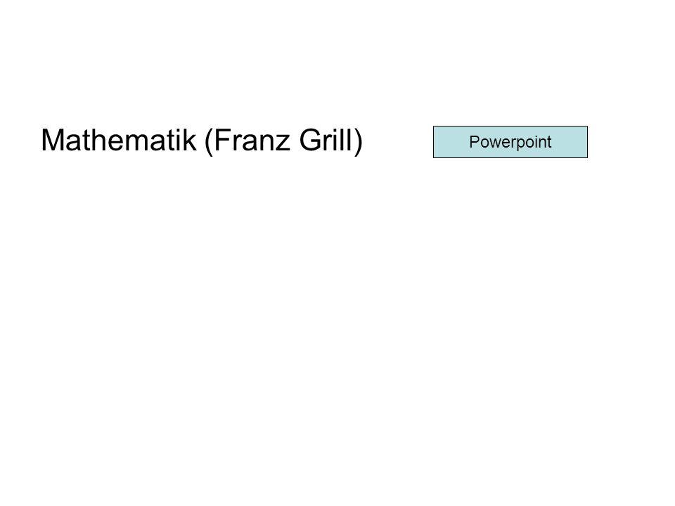 Mathematik (Franz Grill)