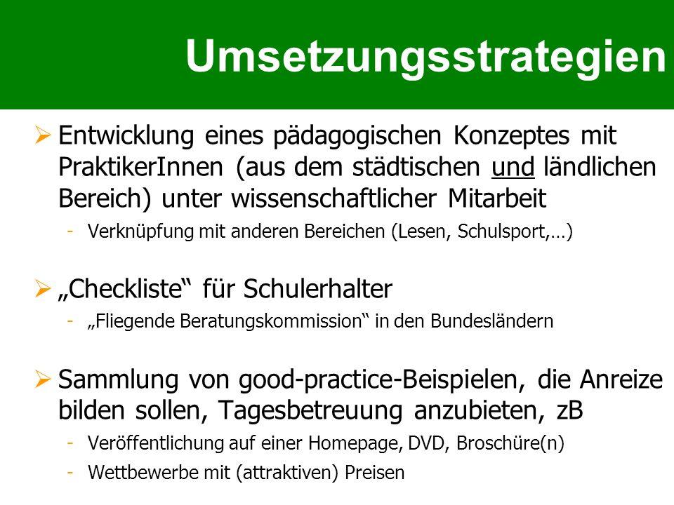 Umsetzungsstrategien