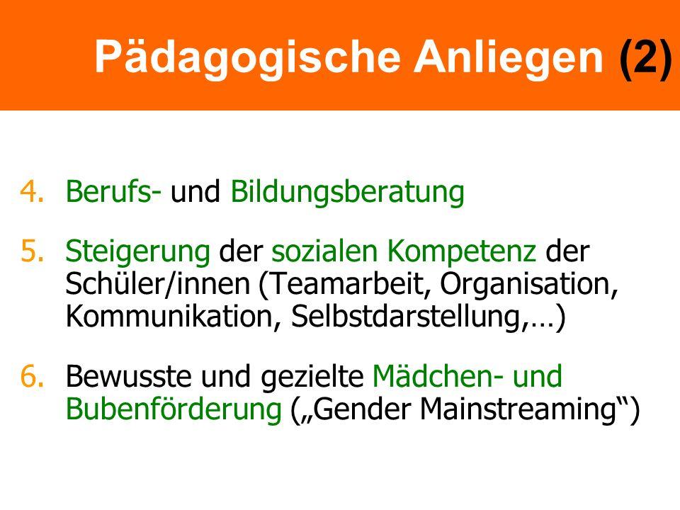 Pädagogische Anliegen (2)