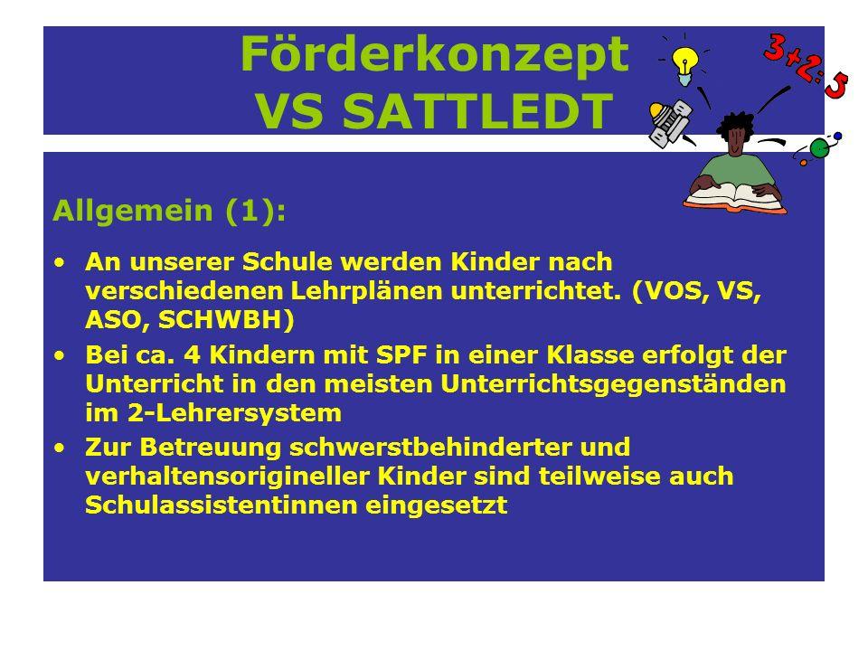 Förderkonzept VS SATTLEDT