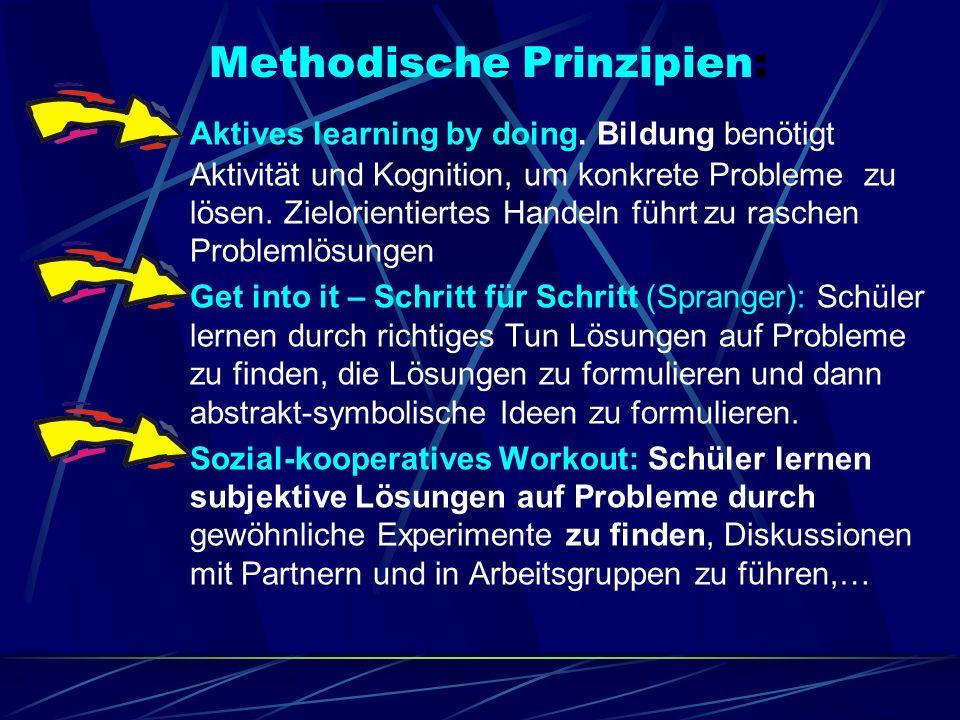 Methodische Prinzipien: