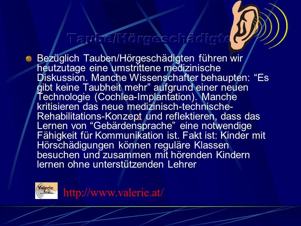Taube/Hörgeschädigte
