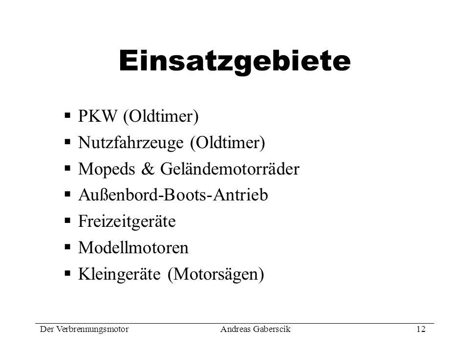 Einsatzgebiete PKW (Oldtimer) Nutzfahrzeuge (Oldtimer)