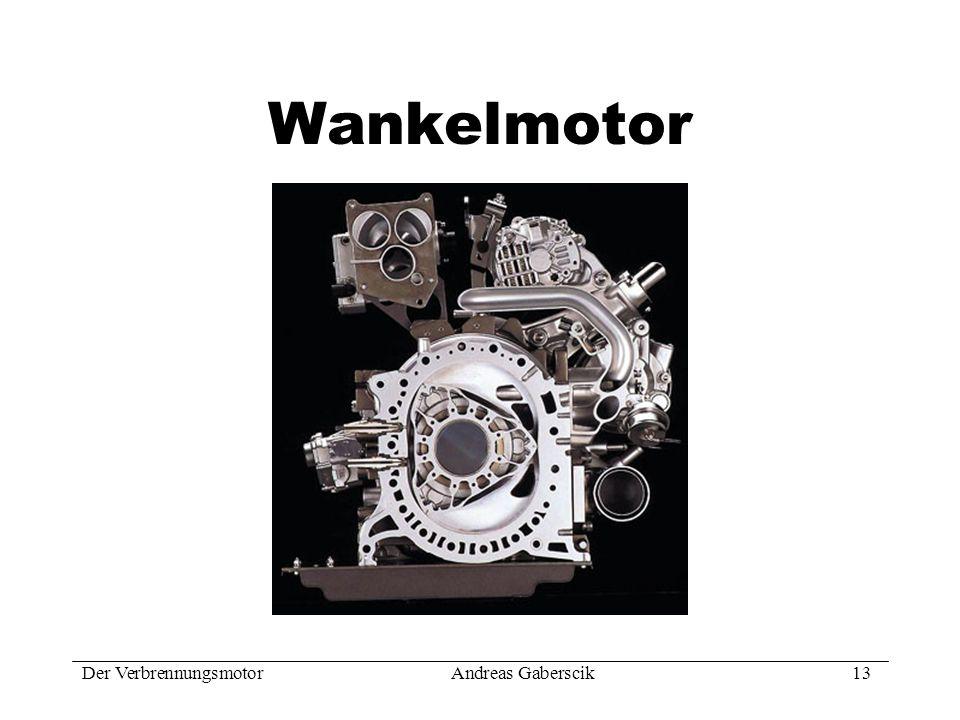 Wankelmotor Der Verbrennungsmotor Andreas Gaberscik 13