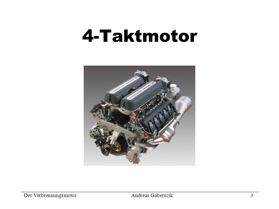 4-Taktmotor Der Verbrennungsmotor Andreas Gaberscik 3