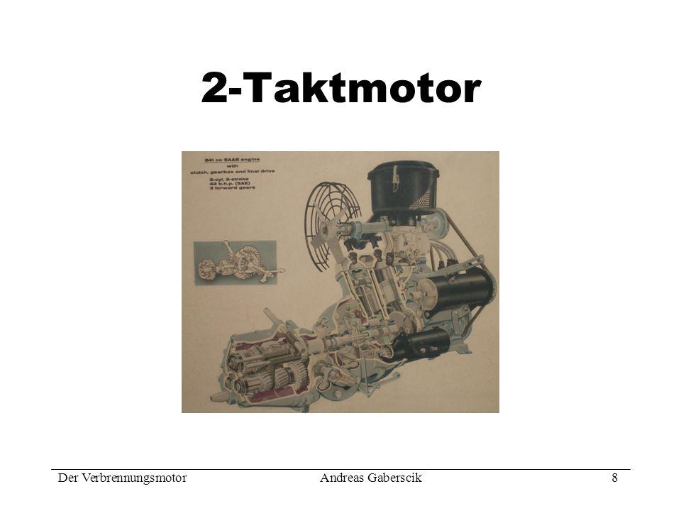 2-Taktmotor Der Verbrennungsmotor Andreas Gaberscik 8