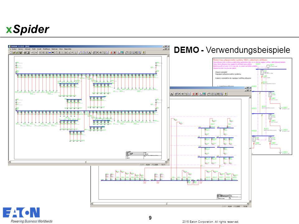 xSpider DEMO - Verwendungsbeispiele