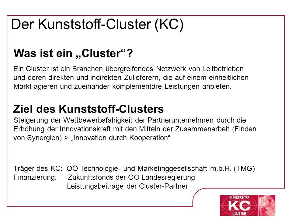 Der Kunststoff-Cluster (KC)