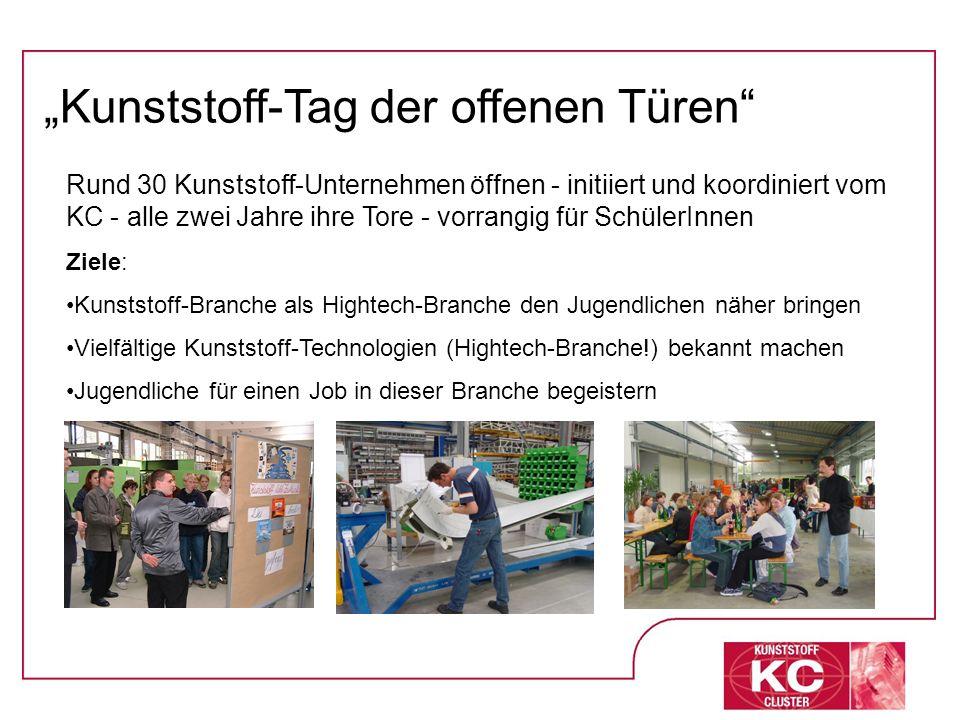 """Kunststoff-Tag der offenen Türen"