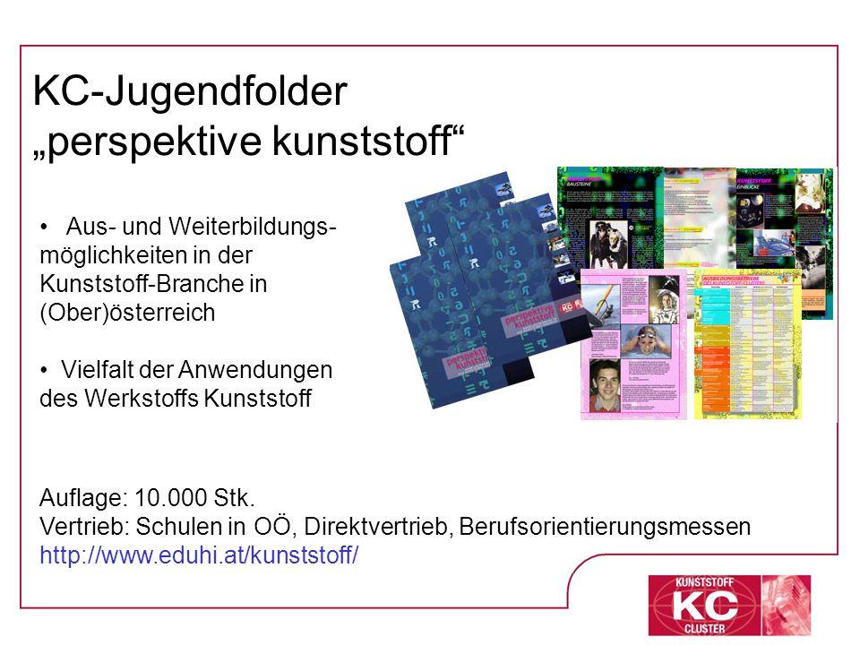 """KC-Jugendfolder """"perspektive kunststoff"""