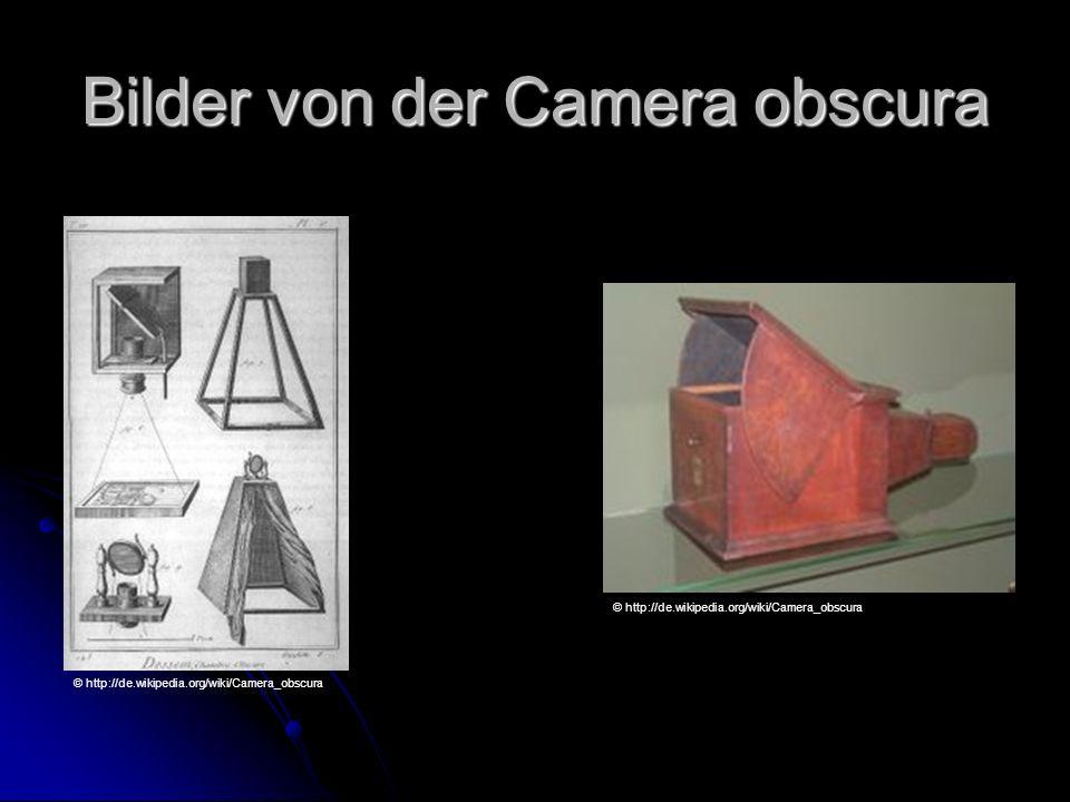 Bilder von der Camera obscura