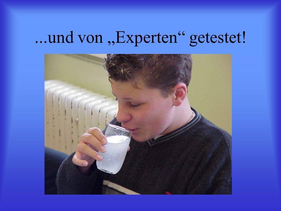 """...und von """"Experten getestet!"""