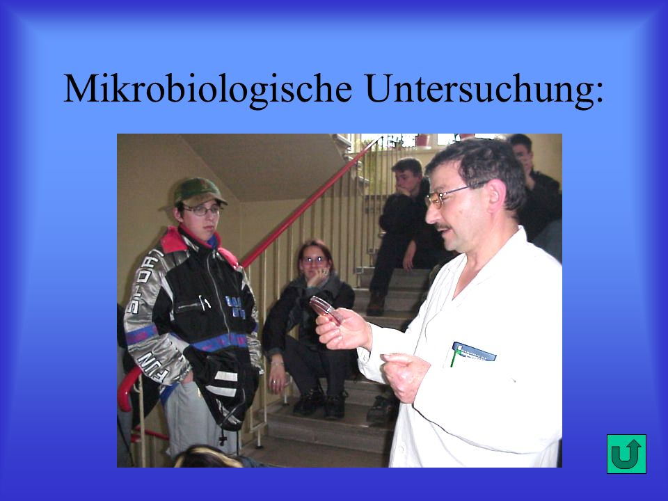 Mikrobiologische Untersuchung: