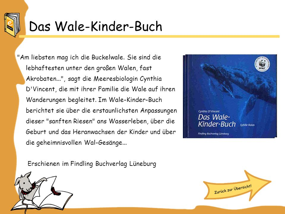 Das Wale-Kinder-Buch