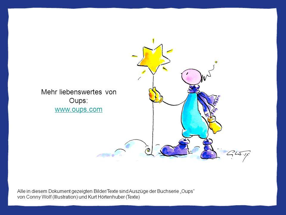 Mehr liebenswertes von Oups: www.oups.com