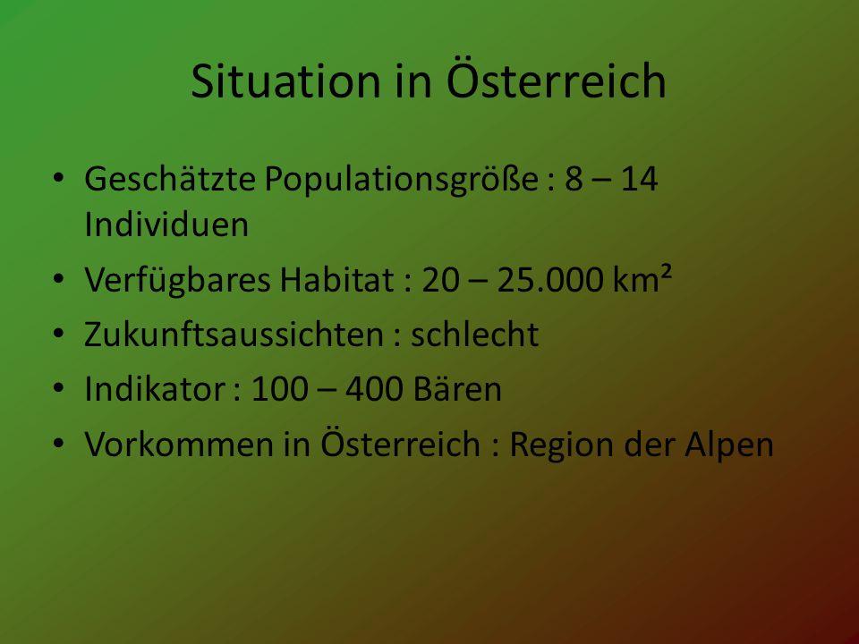 Situation in Österreich