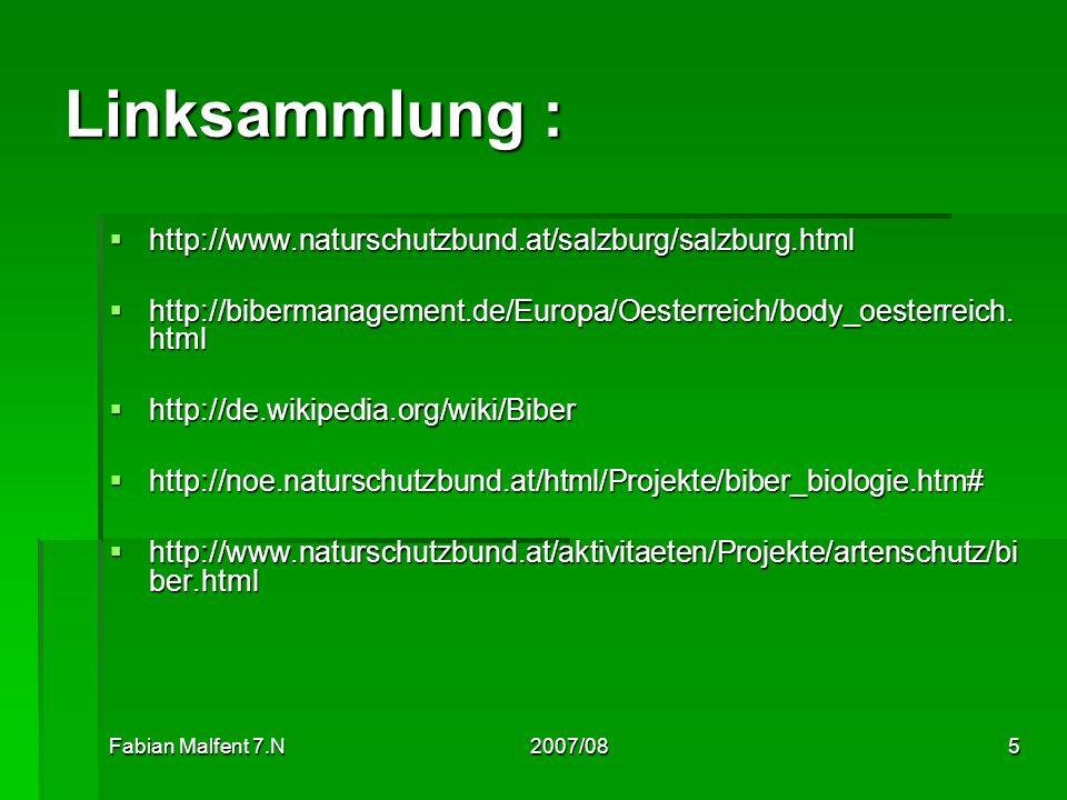 Linksammlung : http://www.naturschutzbund.at/salzburg/salzburg.html