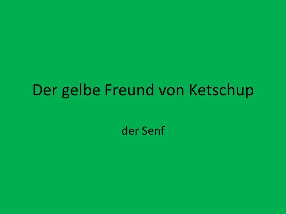 Der gelbe Freund von Ketschup