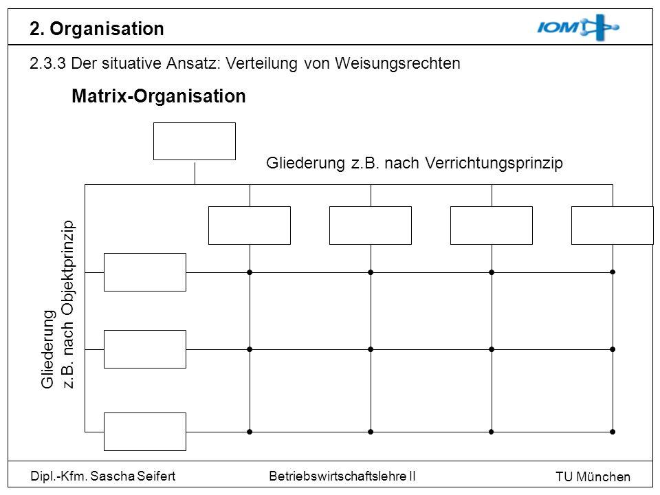 2. Organisation Matrix-Organisation
