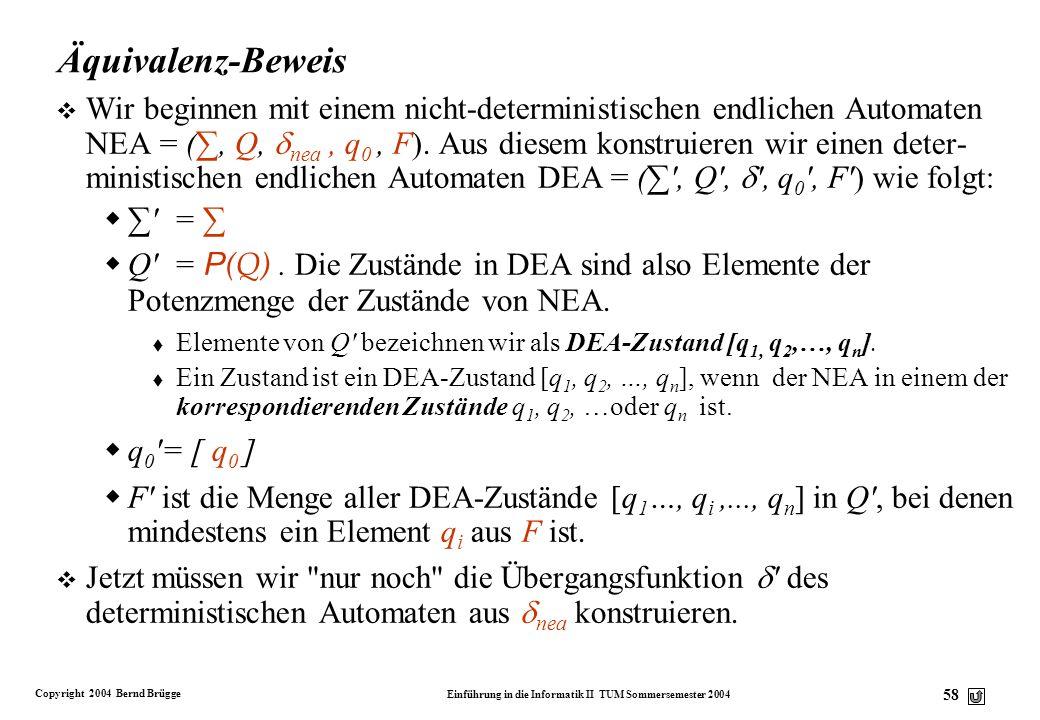 Äquivalenz-Beweis