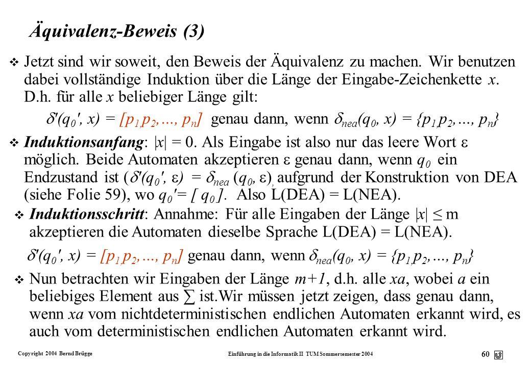 Äquivalenz-Beweis (3)