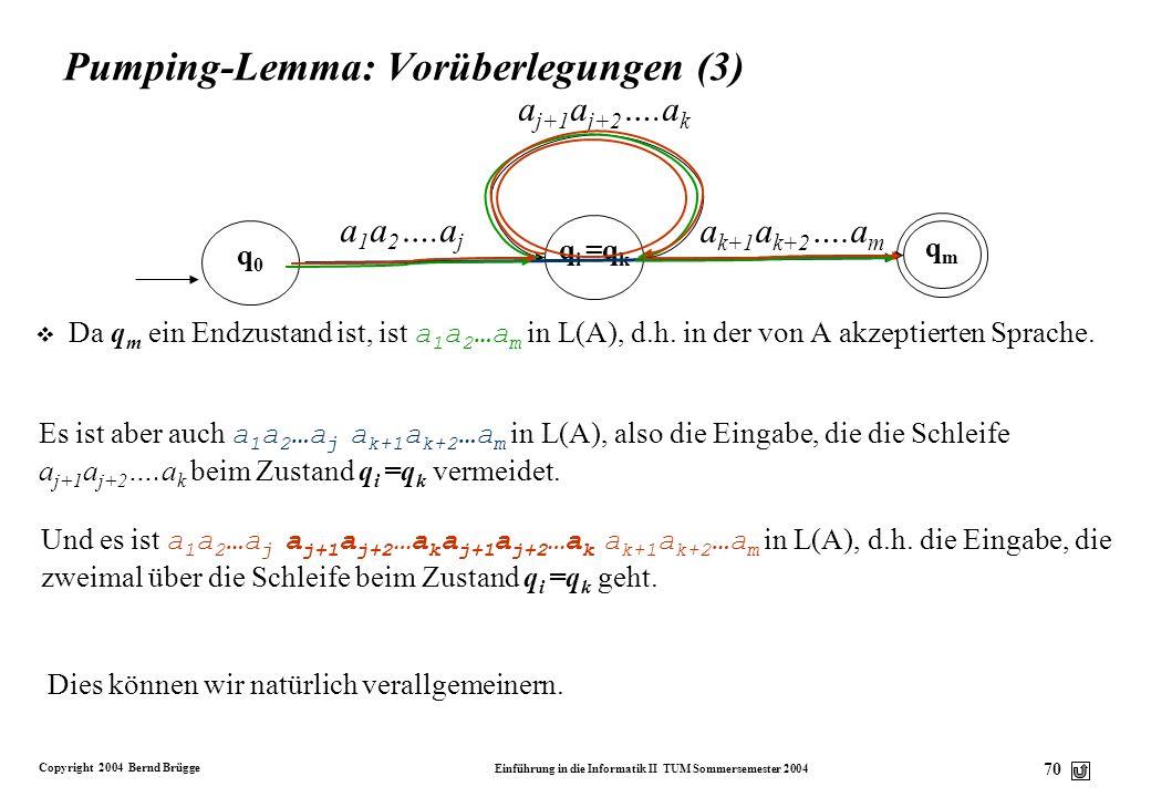 Pumping-Lemma: Vorüberlegungen (3)