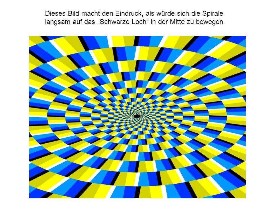 """Dieses Bild macht den Eindruck, als würde sich die Spirale langsam auf das """"Schwarze Loch in der Mitte zu bewegen."""