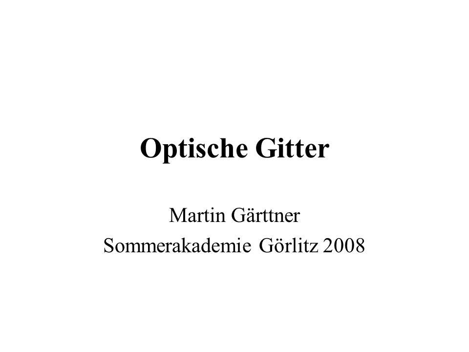 Martin Gärttner Sommerakademie Görlitz 2008