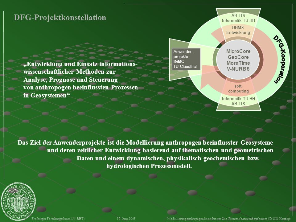 DFG-Projektkonstellation