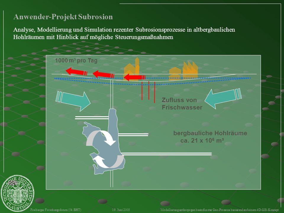 Anwender-Projekt Subrosion