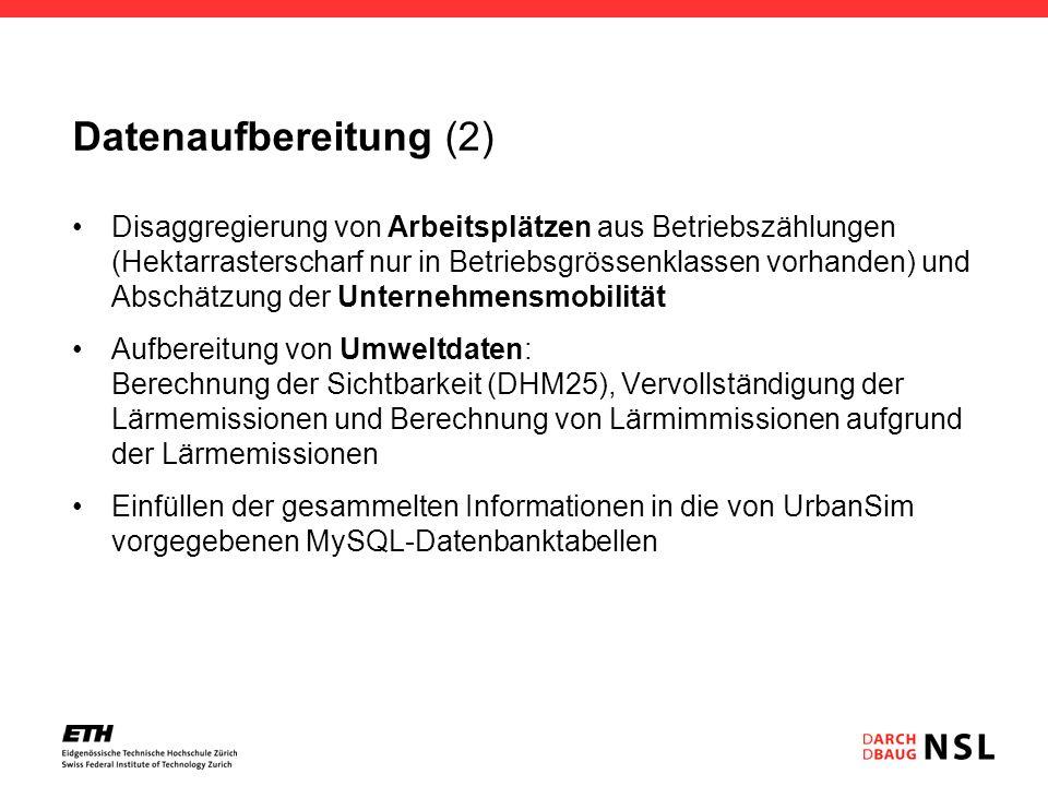 Datenaufbereitung (2)