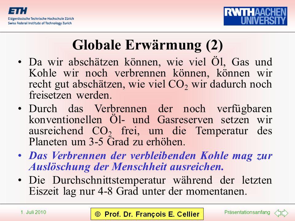 Globale Erwärmung (2)