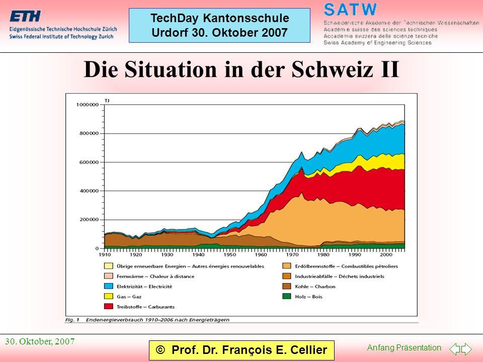 Die Situation in der Schweiz II