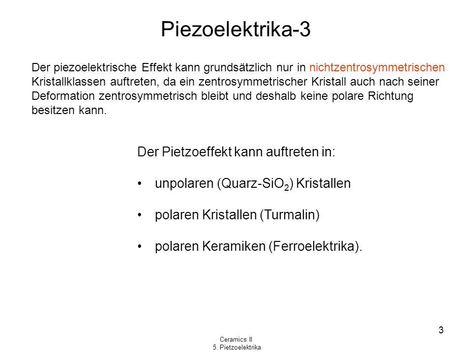 Piezoelektrika-3 Der Pietzoeffekt kann auftreten in: