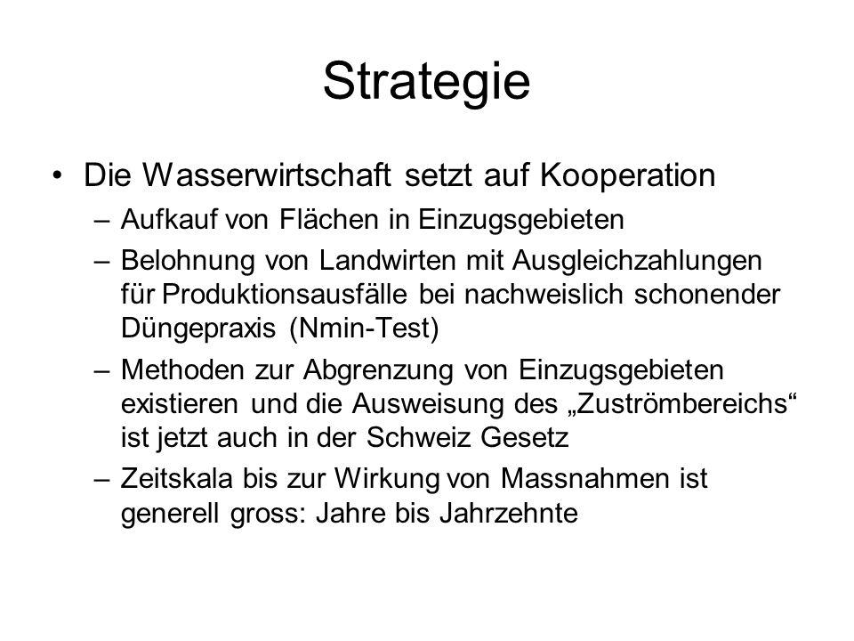 Strategie Die Wasserwirtschaft setzt auf Kooperation