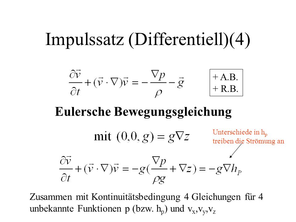 Impulssatz (Differentiell)(4)