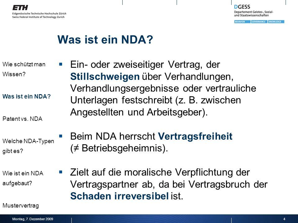 Was ist ein NDA Wie schützt man Wissen Was ist ein NDA Patent vs. NDA. Welche NDA-Typen gibt es